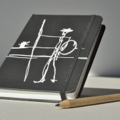 """Cuaderno de papel piedra \""""Don Quijote\"""""""