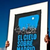 """Lámina artística """"El Cielo sobre Madrid"""""""